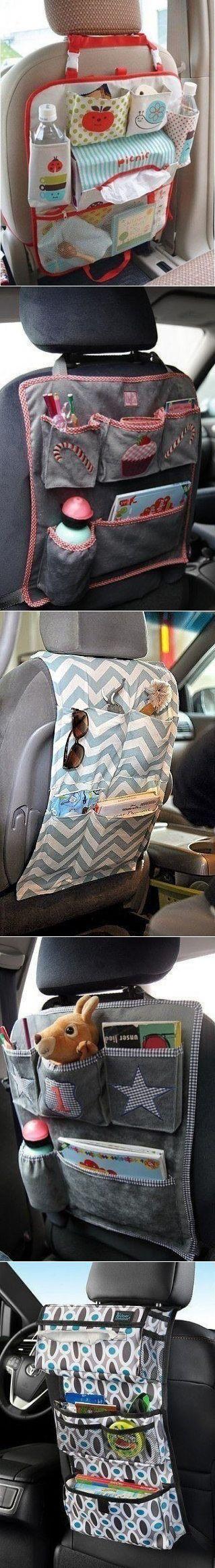 Органайзеры в машину. Идеи.