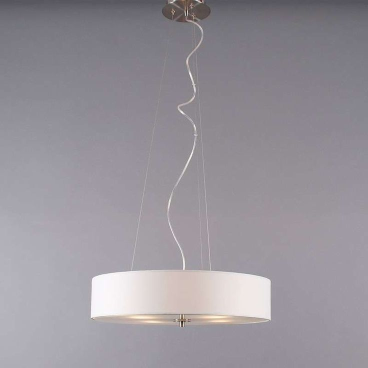 Hanging lamp Drum 50 short off white