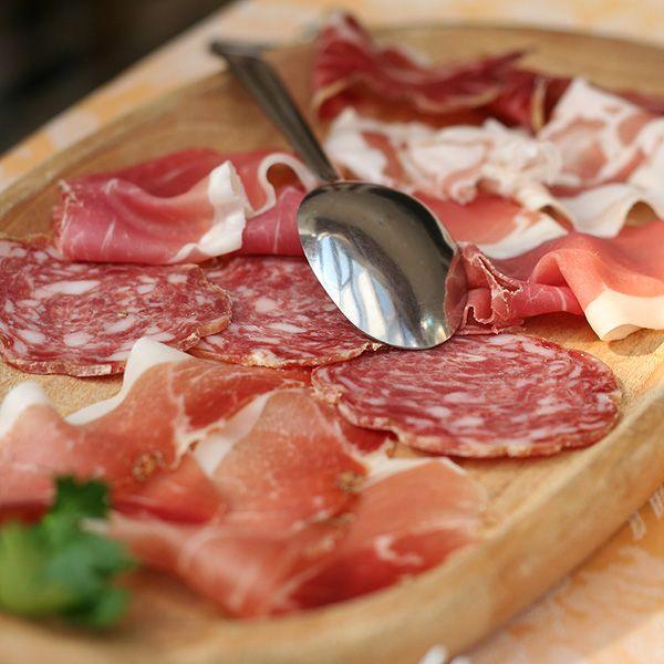 Top Tuscan cold cuts