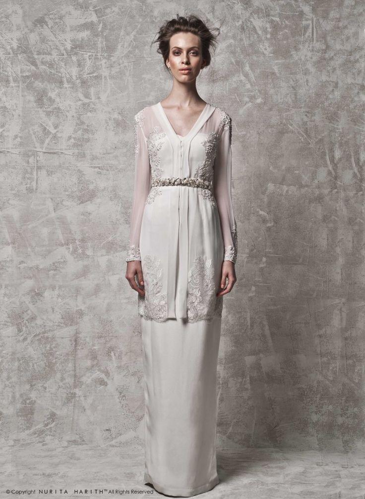 - NURITA HARITH Bridal 2014 Nikah outfit