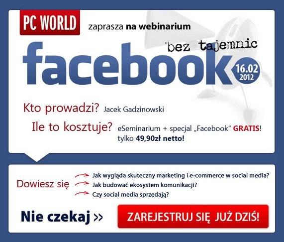 Zadbaj o swój wizerunek na Facebooku - PC World