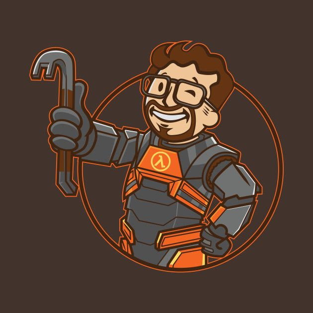 LAMBDA BOY T-Shirt - Gordon Freeman T-Shirt is $11 today at Ript!