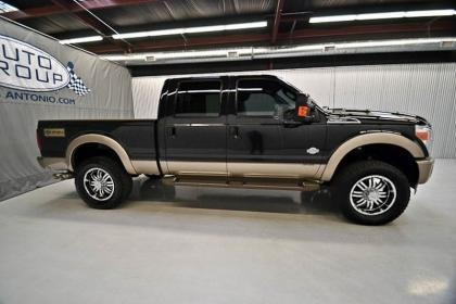 2011 Ford F250 Diesel Crew Cab King Ranch Lifted Truck