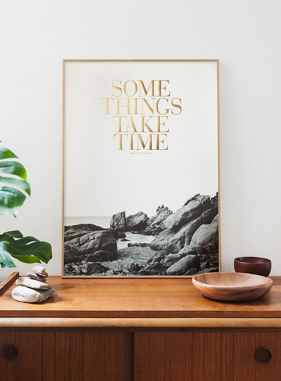 Some things take time. OLD GOLD edition. B/W by Congostudio