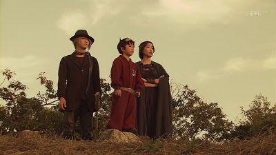 Kazuya Kamenashi, Fuku Suzuki, and Anne in Yokai Ningen Bem