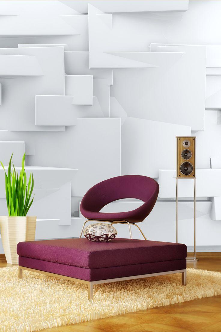 3D panely ako fototapeta na stenu | DIMEX
