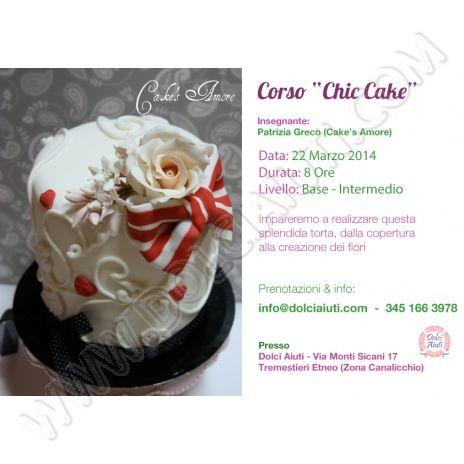 """Corso Decorazione """"Chic Cake"""" - 22/03/2014"""