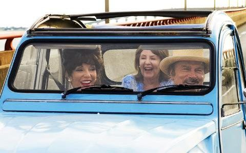 The Time of Their Lives: Joan Collins, Pauline Collins and Italian film star Franco Nero