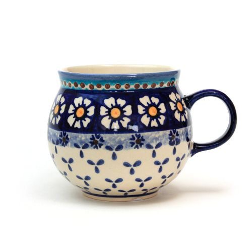 マグカップ(大)ポーリッシュポタリー(ポーランド食器)