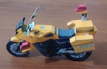 Motocicleta patrulla japonesa