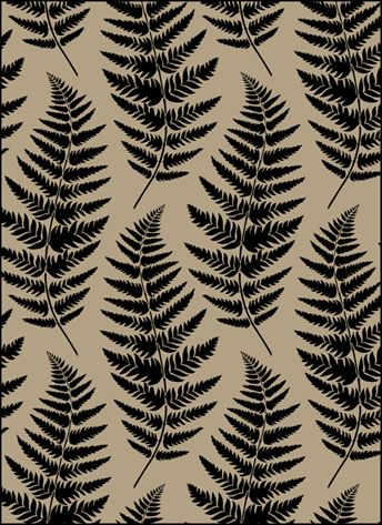 Click to see the actual VN145 - Ferns No 2 stencil design.