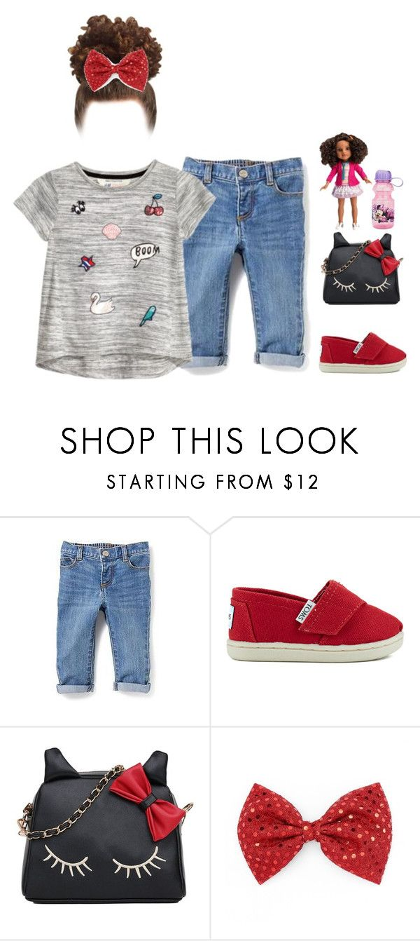 """""""Kassidi today❤️ Successful day at daycare🙌🏾"""" by yourfavetwins ❤ liked on Polyvore featuring Old Navy, TOMS and ZAK"""
