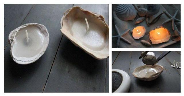 DIY: Cudowne świeczki w muszelkach, które wykonasz w kilka minut #KORKI #DIY #ZRÓB TO SAMA #KROK PO KROKU #DEKORACJE