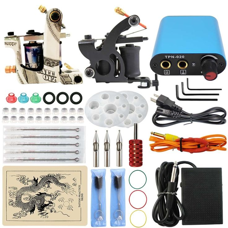 (62.30$)  Watch more here - http://aibgy.worlditems.win/all/product.php?id=32723351392 - ITATOO Tattoo Kit Cheap Tattoo Machine Set Kit Tattooing Machine Gun Tattoo Supplies For Body art Weapon Professional TN1005-10B