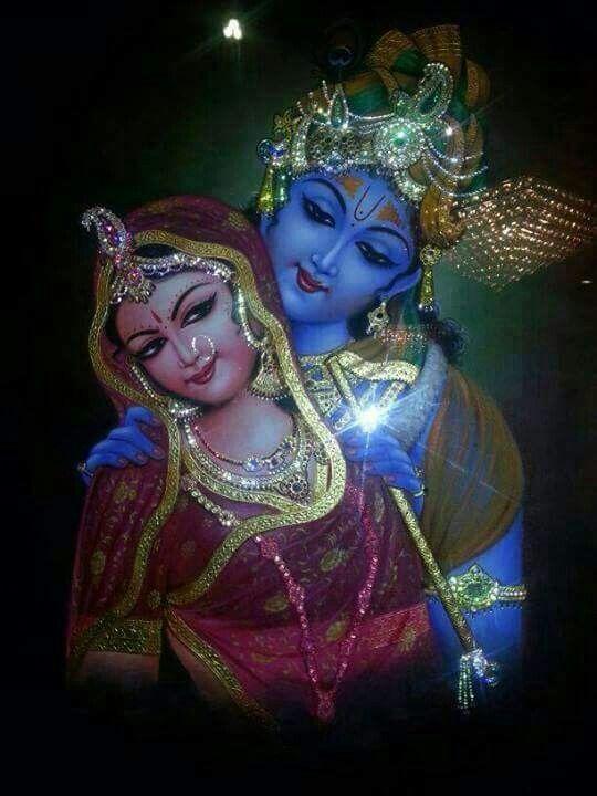 God Krishna & Radha.                                                       …