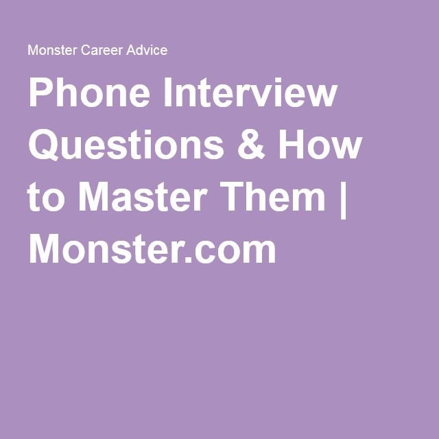 how to prepare phone interview questions