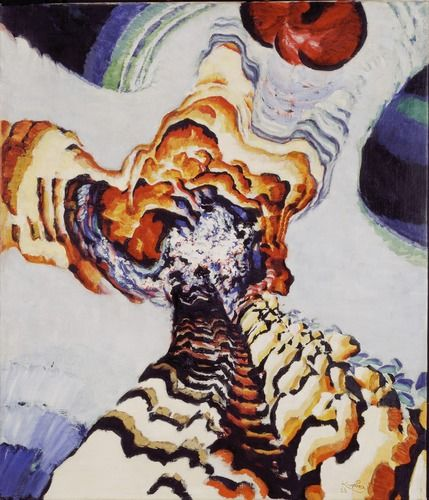 František Kupka (Czech, 1871 – 1957), Conte de pistils et d'étamines n°I, 1919 - 1923.