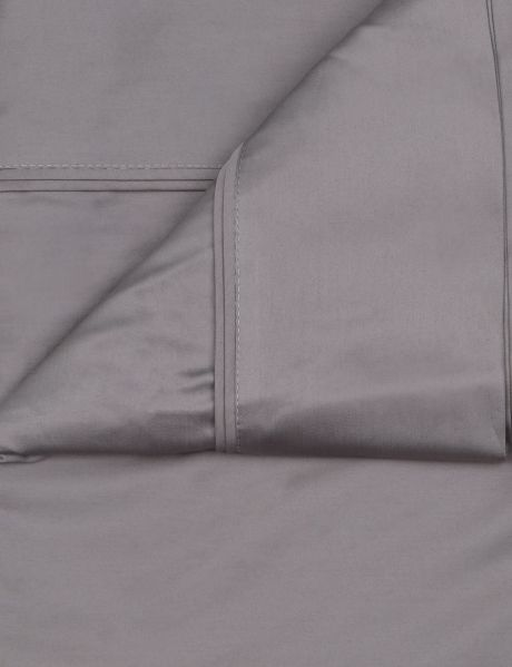 Domani Lunetta 500 thread count Sheet Set - Shadow or Sterling - Queen - Farmers
