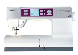 My new sewing machine..love Pfaff!
