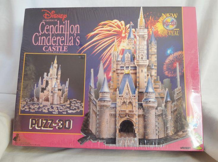 Cinderella's Castle Disney World 3D Jigsaw Puzzle 530 Piece Wrebbit New Sealed Offered by #selah55 on Bonanza