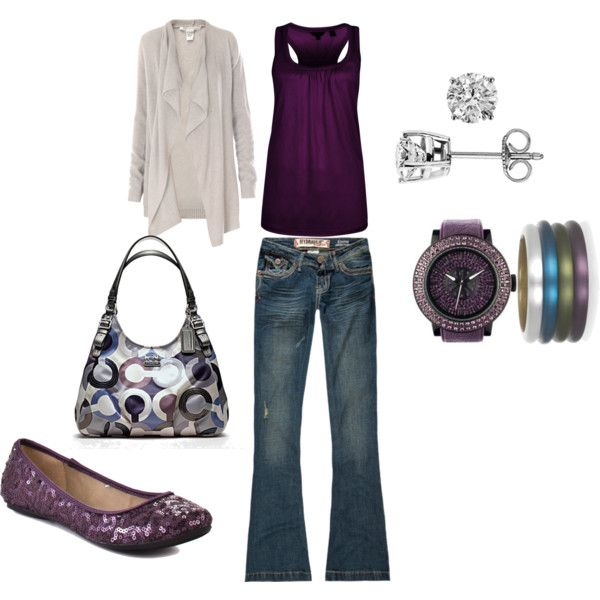 Purple with other accents....Adorable!