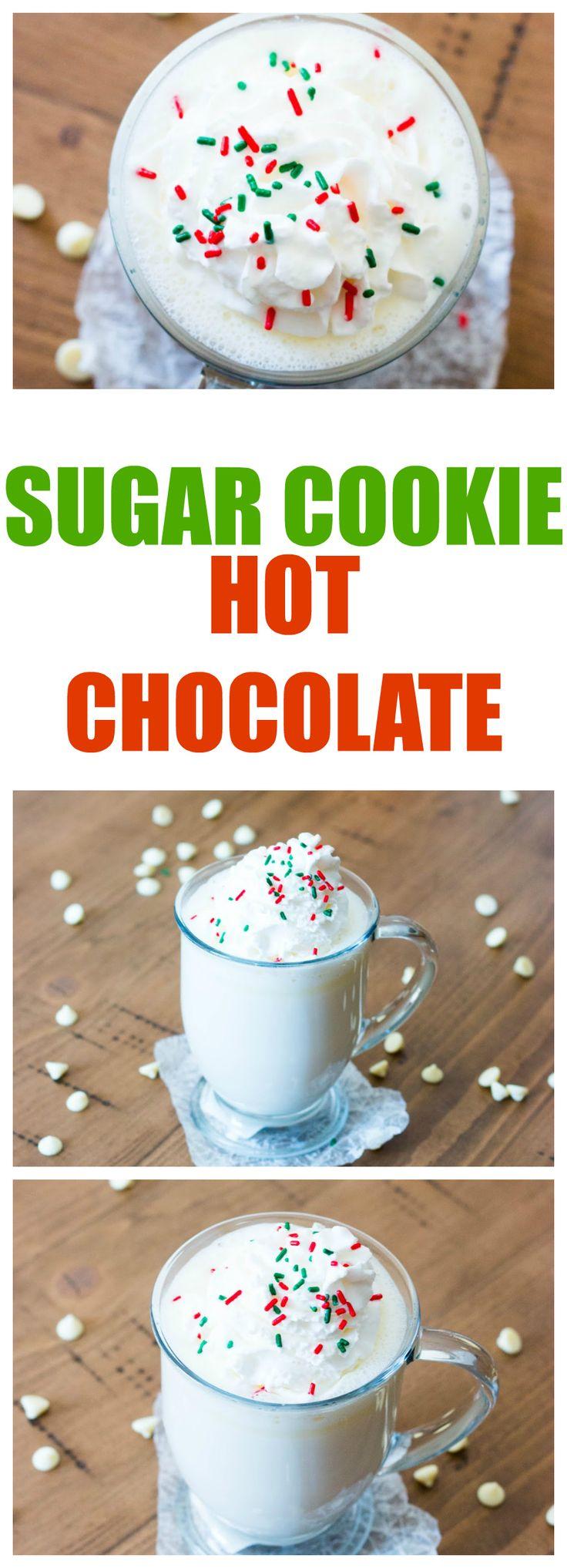 Sugar Cookie Hot Chocolate Seasons, Walmart and Hot