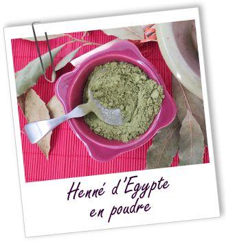 Coloration & Soin capillaire Henné d'Egypte Aroma-Zone