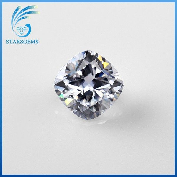 Popular Loose Diamond Cushion Cut Moissanite Stone for sales.