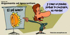 Argumento ad ignorantiam ilustraciones falacias