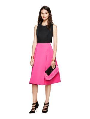 colorblock bow back dress - kate spade new york