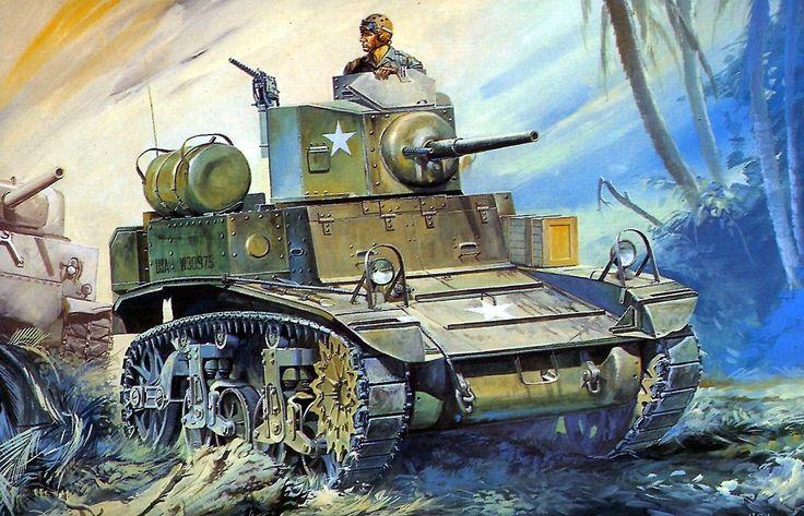 1943 M3 Stuart Mk.I