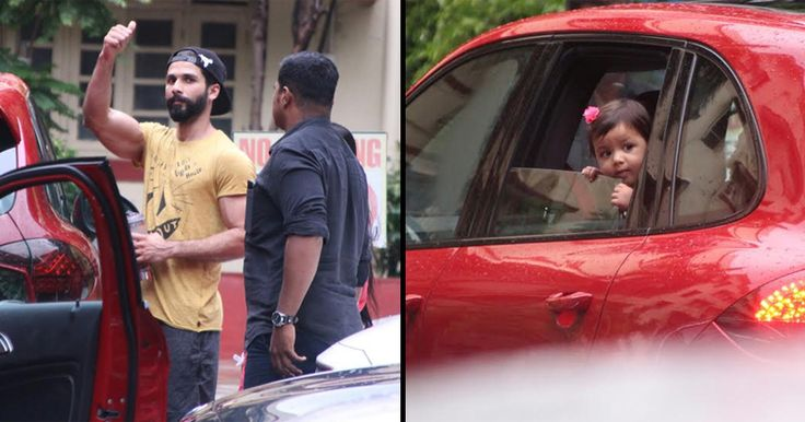 Baby Misha Just Came Out To Pick Daddy Shahid Kapoor From The Gym And Looked Cute As Hell http://indianews23.com/blog/baby-misha-just-came-out-to-pick-daddy-shahid-kapoor-from-the-gym-and-looked-cute-as-hell/