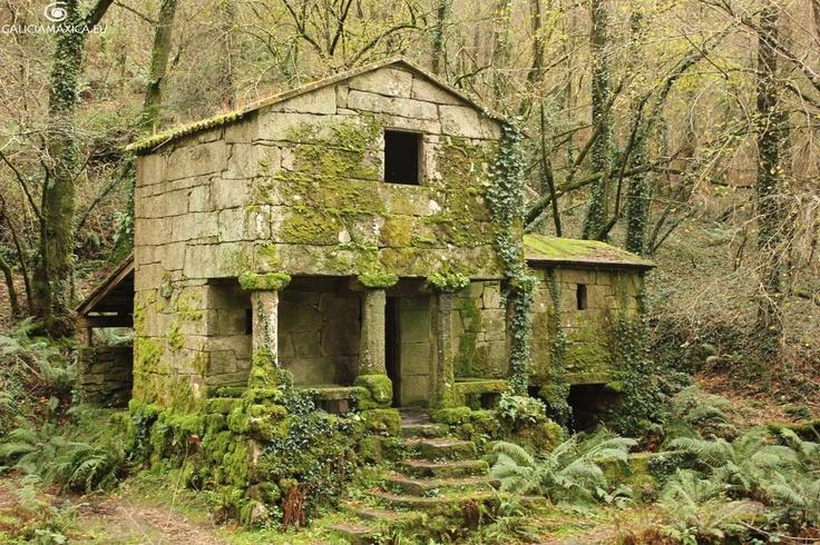 Muíño das Maquías, Vigo, Pontevedra.