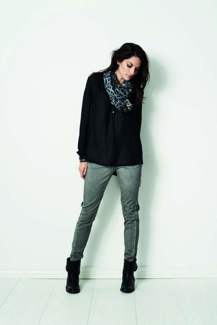 soyaconcept - shirt - blouse - scarf - pants