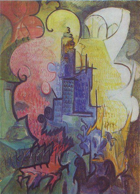 Leon Chwistek - Miasto, 1919