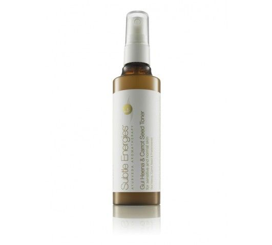 Gul Heena & Carrot Seed Toner  A gentle daily toner and hydrating mist for normal and sensitive skin types.