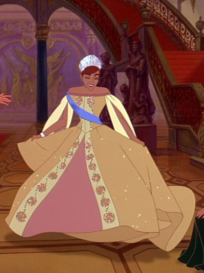 Anastasia, I'll pin her even though she technically isn't a Disney princess... She's still an animated princess...
