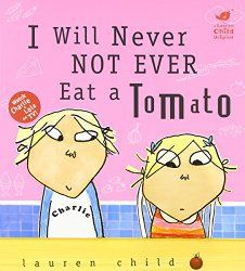 Children love this book. Its Charlie and Lola and promote healthy eating its great to read at home and at school to promote healthy eating as part of a theme or stand alone. Go to my blog for more info and a link to an on-line video of this book.