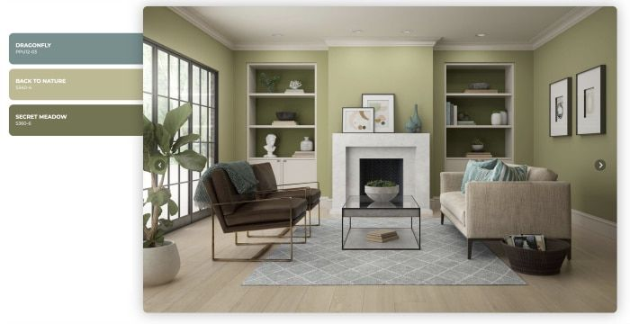 Behr Back To Nature Paint Color Color Of The Year 2020 Living Room Wall Color Natural Paint Colors Room Colors
