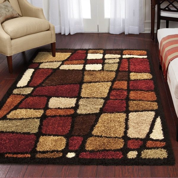 For Great Room Orian Streetfair Shag Rug Multi