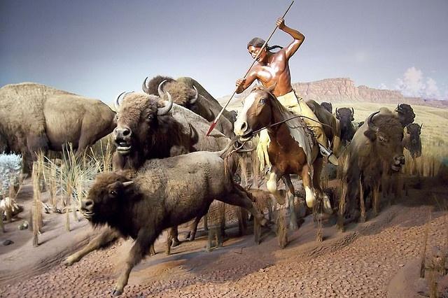 Bison Hunt by Retinal Fetish, via Flickr
