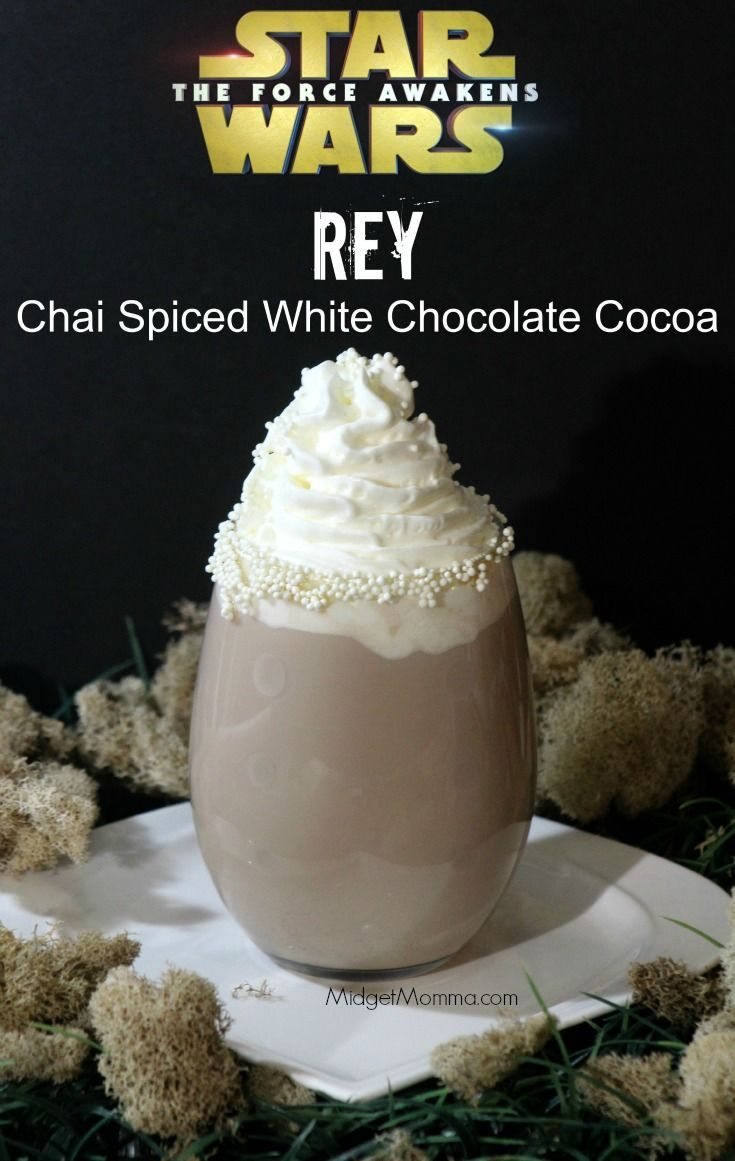 Chai Spiced White Chocolate Cocoa