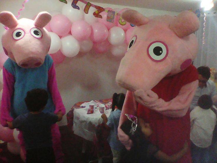 Pepa en tu celebración infantil llámanos 3204948120 y diviértete con nosotros #fiestasinfantiles #Payasos #recreacionistas # Chiquiteca #personajes # juegos recreativos