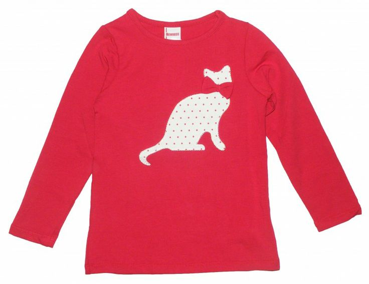 Camiseta Gato Roja