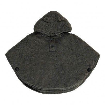 Irene Hooded Fleece Ears Cape www.lolafitz.com #fleece #cape #baby #babyclothing #stylishbaby #lolaandfitzfavorites
