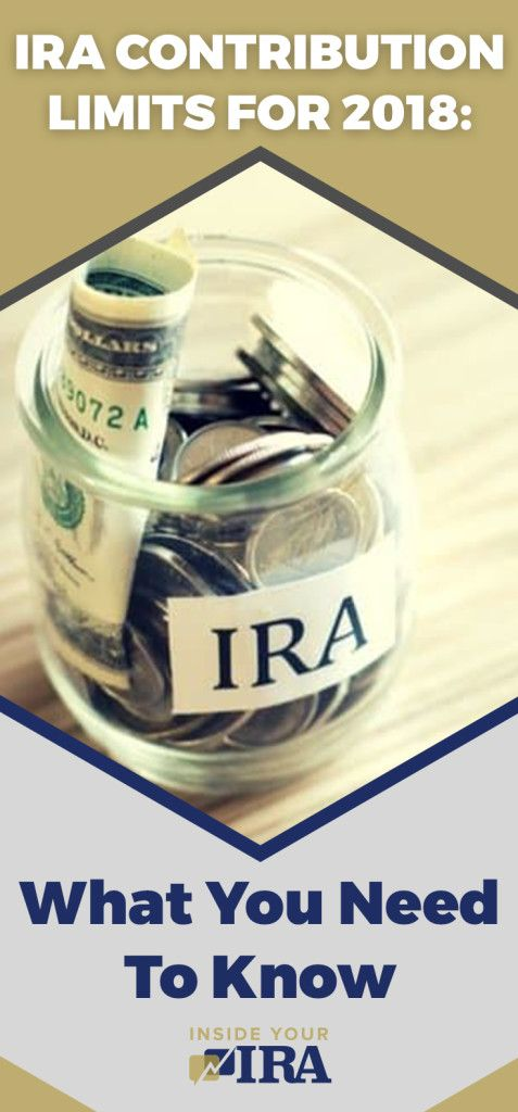 IRA Contribution Limits for 2018: What You Need to Know | Here are the updates on IRA #contributions you need to know. | https://insideyourira.com/ira-contribution-limits-2018-news/?utm_source=pin