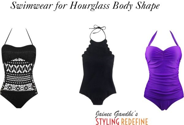Swimwear for Hourglass Body Shape