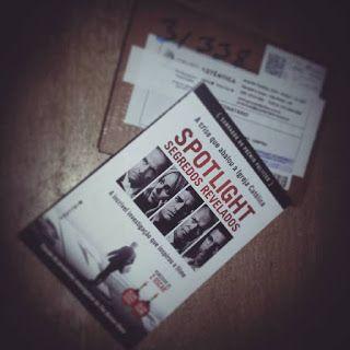 Meu desafio de leitura: Livro 13 - Spotlight – Segredos Revelados