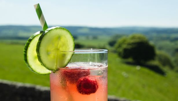 Sit back with a #cocktail during your #stay at the Lathkil #Hotel & take in the #views of the #PeakDistrict.  The Lathkil Hotel, Over Haddon, Bakewell, Derbyshire.