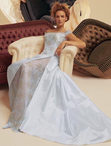 Abiti da sposa blu/azzurri